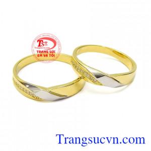 Nhẫn cưới tình yêu chung thủy