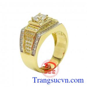 Nhẫn nam vàng nhập khẩu cao cấp