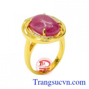 Nhẫn nữ Ruby nổi bật