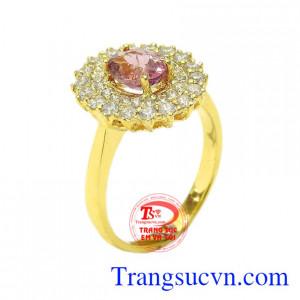 Nhẫn nữ Tourmaline độc đáo