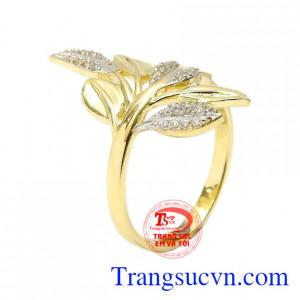 Nhẫn nữ vàng thanh tao