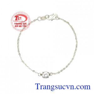 Lắc bạc nữ xinh đẹp