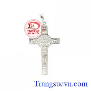 Mặt thánh giá bạc cứu rỗi