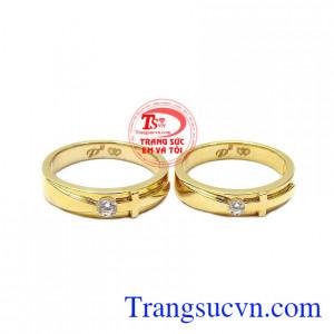 Nhẫn cưới thánh giá yêu thương