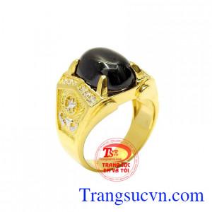 Nhẫn nam vàng ấn tượng