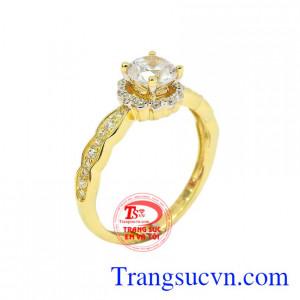 Nhẫn nữ vàng thục nữ