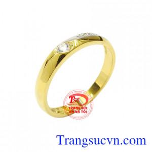 Nhẫn vàng thời thượng