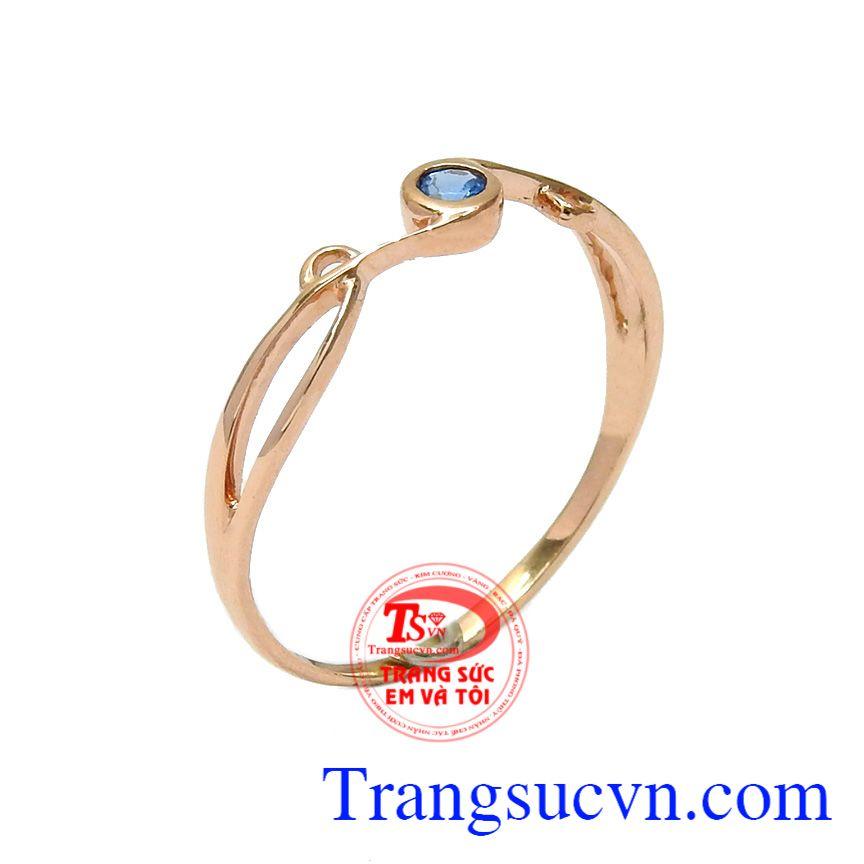 Nhẫn nữ vàng mong manh