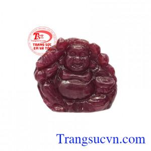Phật di lặc ruby thiên nhiên hoan hỉ