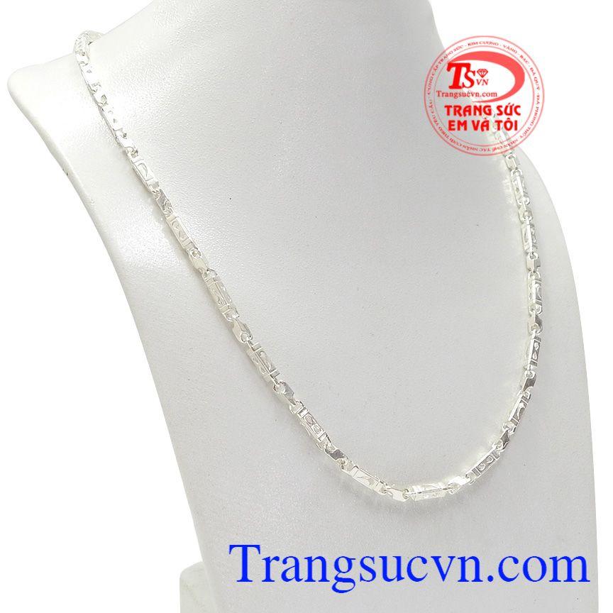 Từ lâu dây chuyền bạc nam đã trở thành món trang sức được nhiều phái mạnh lựa chọn để thể hiện cá tính