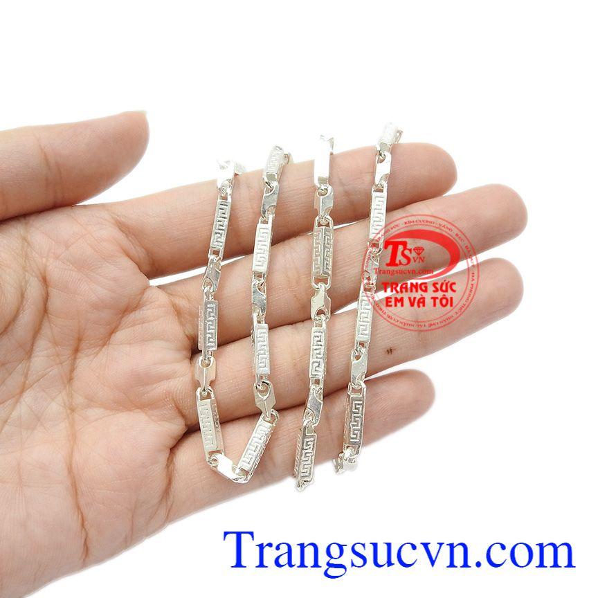 Dây chuyền bạc thành công sự lựa chọn hàng đầu, giao hàng toàn quốc.