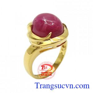 Nhẫn nữ Ruby thịnh vượng