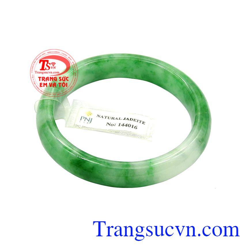 Vòng ngọc jadeite an nhiên