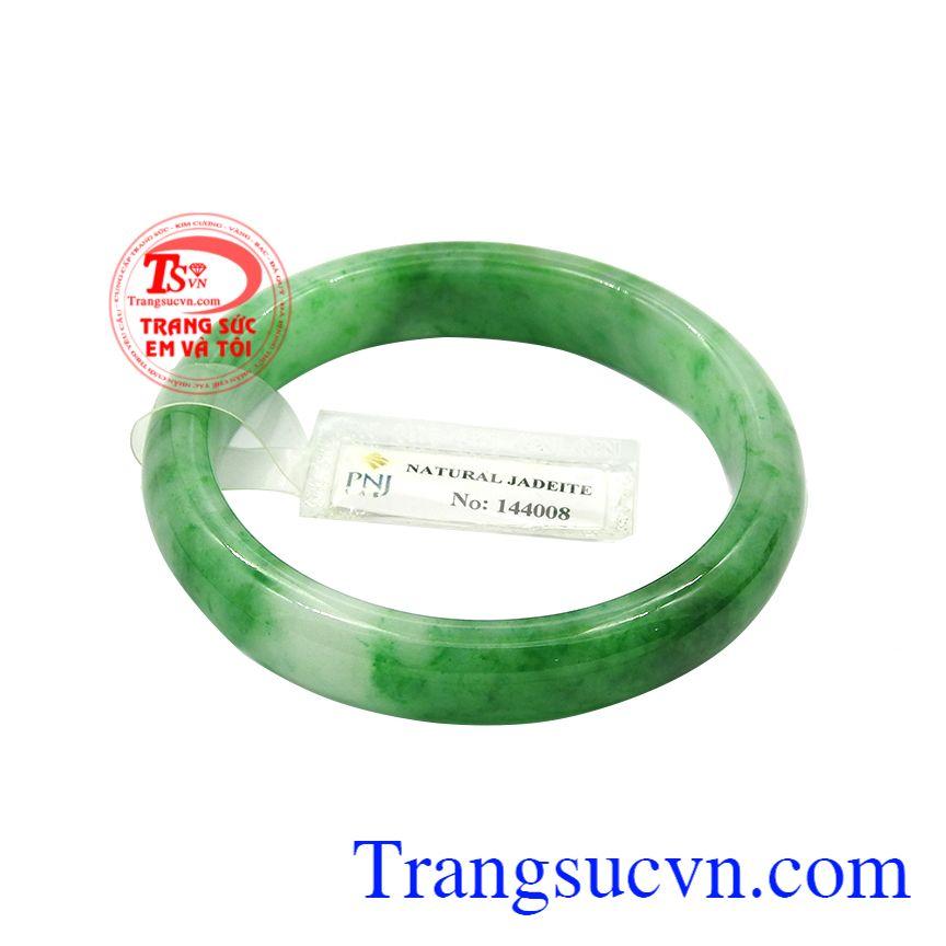 Vòng ngọc jadeite bình an