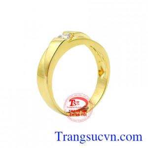 Nhẫn vàng thời trang