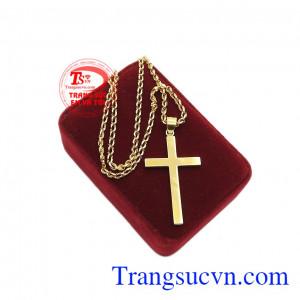 Với bộ trang sức thánh giá vàng đức tin sẽ là món quà ý nghĩa để dành tặng cho người thân của bạn. Bộ thánh giá vàng đức tin