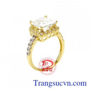 Nhẫn nữ phong cách quý cô
