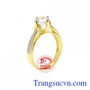 Nhẫn nữ phong cách thời thượng