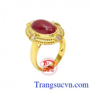 Nhẫn nữ ruby đẳng cấp