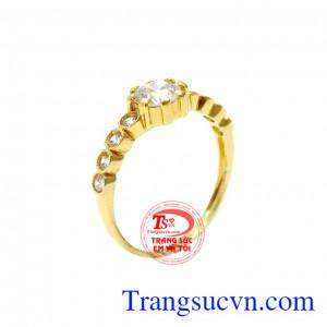 Nhẫn nữ thời trang phong cách