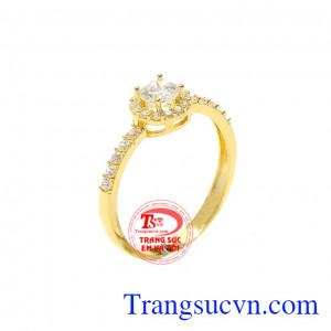 Nhẫn nữ vàng diệu kỳ