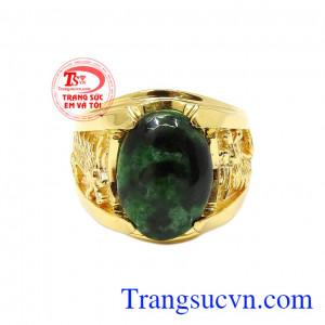 Nhẫn rồng cẩm thạch thiên nhiên là một sản phẩm mới của Trang sức Em và Tôi.