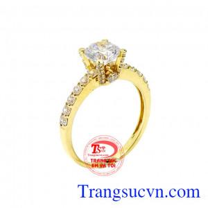 Nhẫn vàng trang nhã