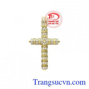 Thánh giá vàng cầu nguyện