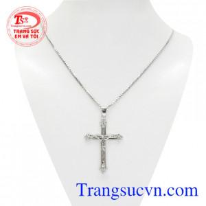 Bộ mặt thánh giá jesus vàng trắng