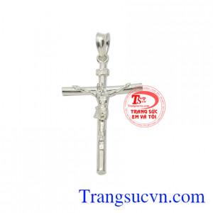 mặt bạc hình thập giá