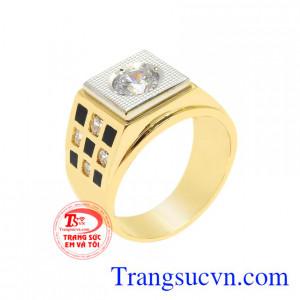 Nhẫn vàng phong cách nam giới
