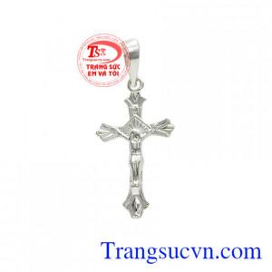 Thánh giá bạc nhỏ đức tin