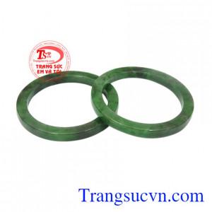 Vòng đôi ngọc jadeite thịnh vượng