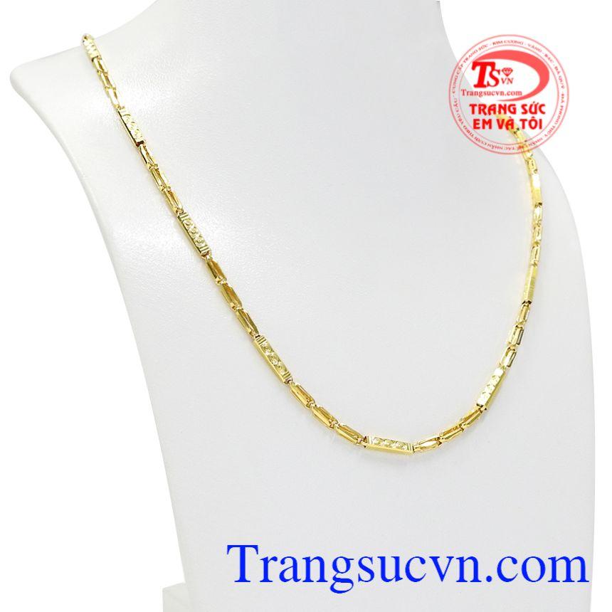 Dây chuyền vàng trang sức nam được phái nam yêu thích và lựa chọn nhiều.