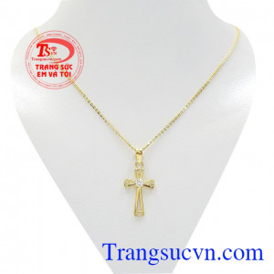 Bộ trang sức thập tự giá vàng
