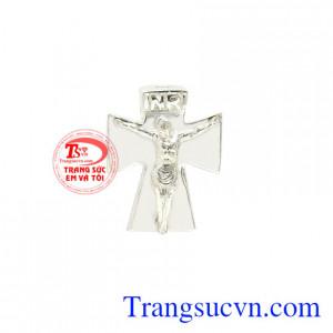 Charm bạc thánh giá Giêsu