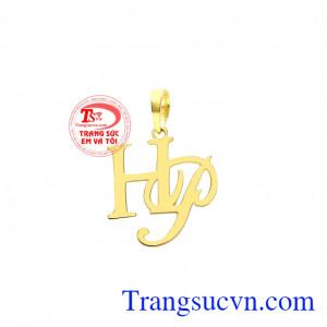 Mặt dây chữ HP đẹp