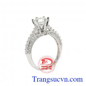 Nhẫn bạc nữ kiêu sa