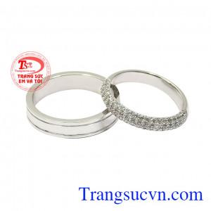 Nhẫn cưới yêu thương trọn vẹn