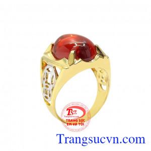 Nhẫn nam vàng kim tiền