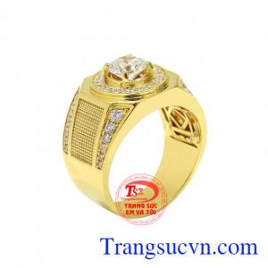 Nhẫn vàng bản lĩnh phái mạnh