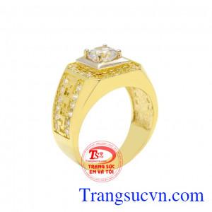 Nhẫn vàng nam ấn tượng