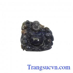 Phật di lặc hưng thịnh đá sapphire