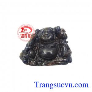 Phật di lặc may mắn đá sapphire