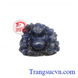 Phật di lặc sapphire phát tài