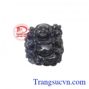 Phật di lặc sapphire tốt lành