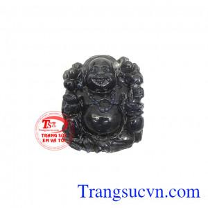Phật di lặc thành công đá sapphire