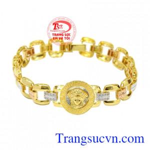 Lắc tay vàng tây thương hiệu