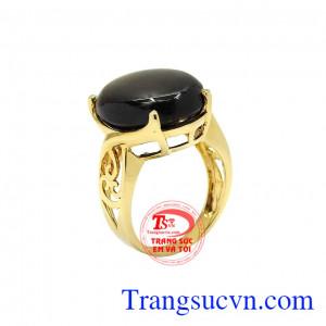 Nhẫn nữ sapphire sao quý phái