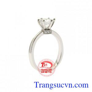Nhẫn nữ vàng trắng rạng ngời